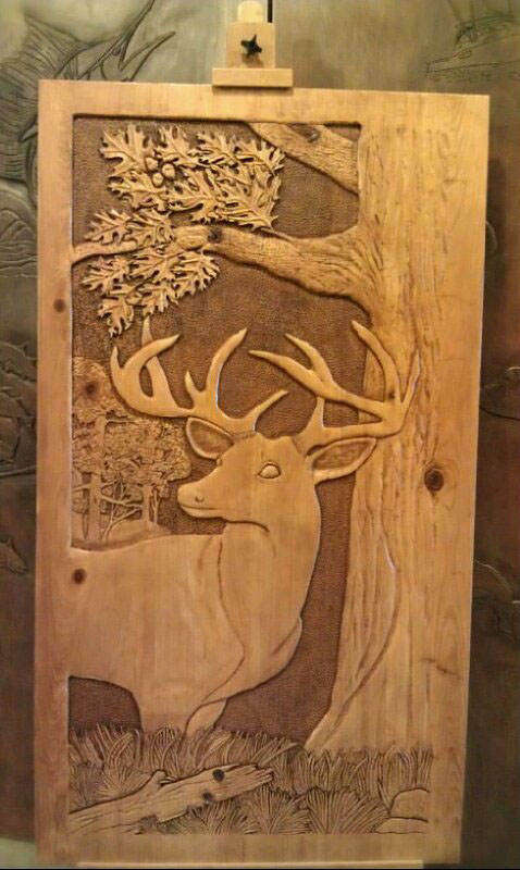 Carving wood projects