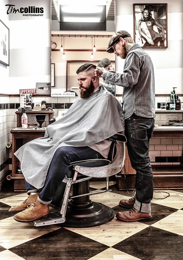 6b25e4c3c190b Frank Rimer - London Barber on Behance