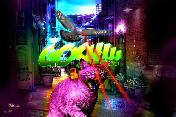 urban monster Urban monster pigeon Scary