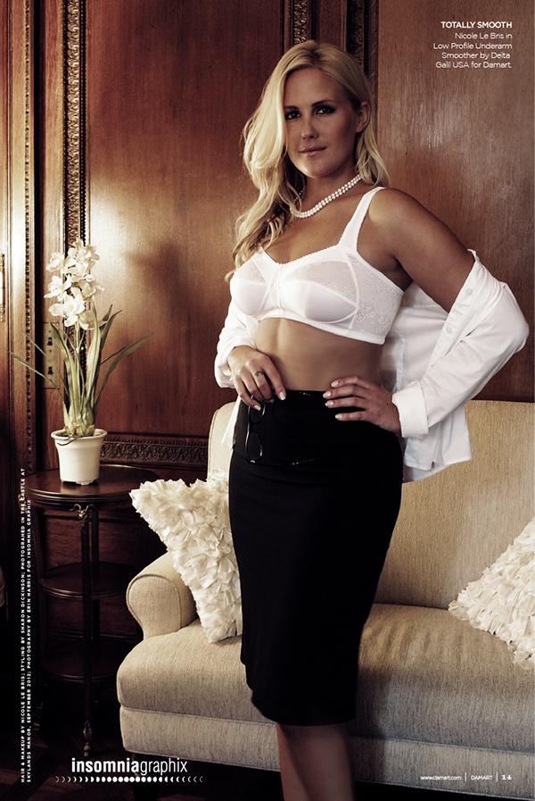 Nicole Lebris Model Lingerie | Black Models Picture
