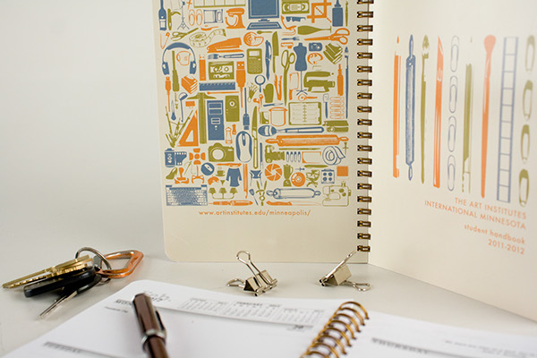 Hand Book Cover Design ~ Student handbook design on show