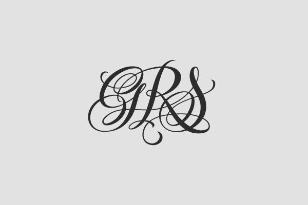 lettering handwriting logo monogramma letter letters monogram