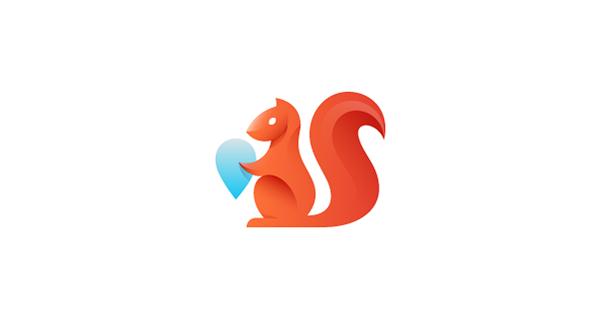 logo,logos,animals,birds,color,gradients,FOX,squirrel,flight,parrot,frog,cardinal,animal logos