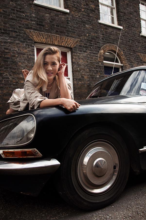 Cars,model,blonde,London