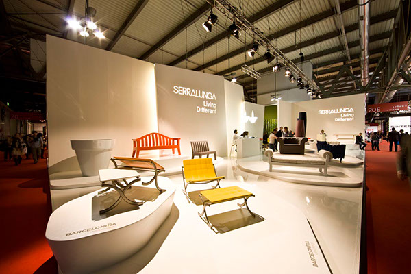 Serralunga stand salone 2011 on behance for Furniture design exhibition