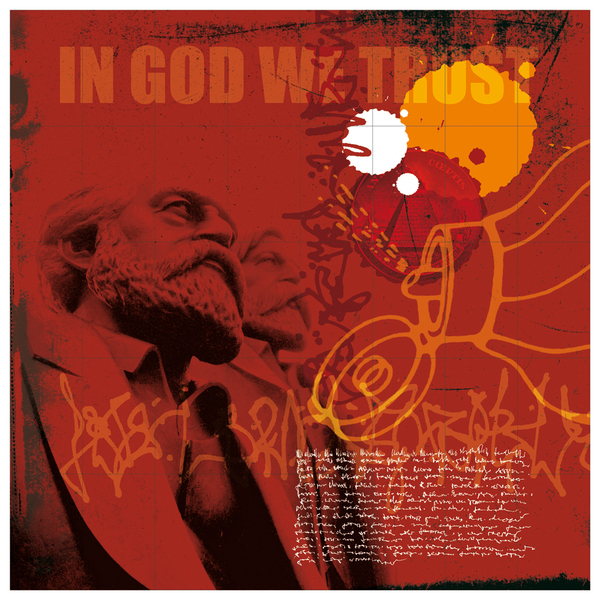 In god we trust - digital collage 2006