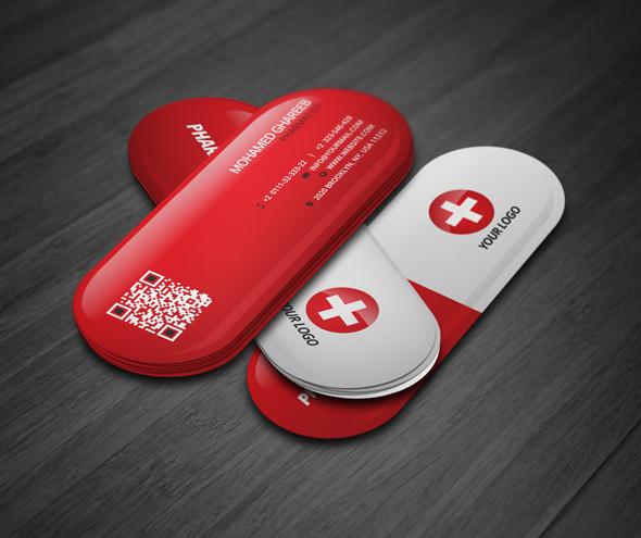 Creative pharmacist business card on behance colourmoves