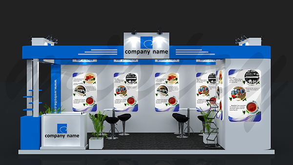 Exhibition Stall On Behance : Exhibition booth design on behance
