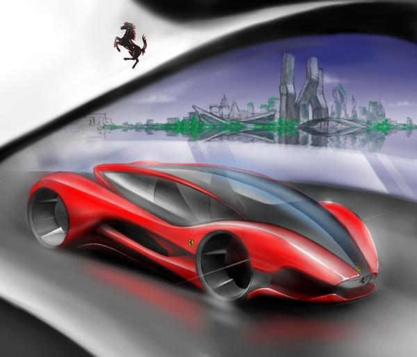Ferrari 2025 On Wacom Gallery