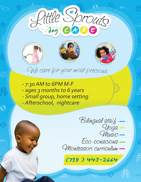 Daycare Flyers Design A Flyer For Child Care Centre Open Day Flyer