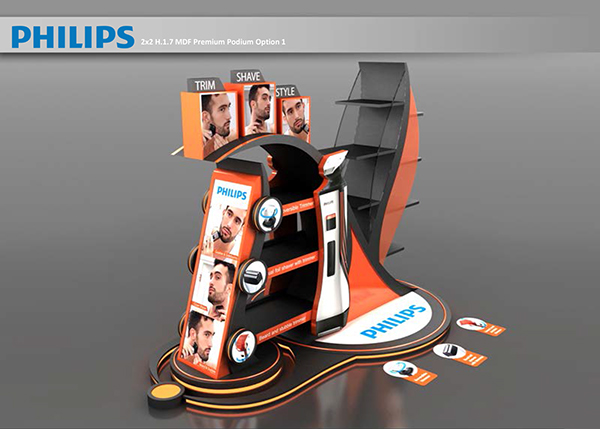 Philips Podium for UAE supper stores on Student Show