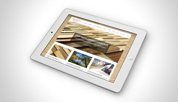 Web Website design Project Proposal unpublished TIMBER lumber wood