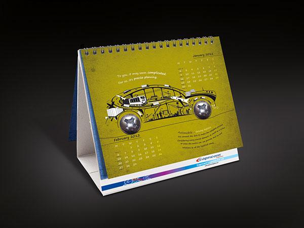 Logistics Calendar Design : Capricorn logistics on behance