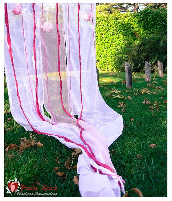 Foto producto cortinas rom nticas by paula sack on behance for Cortinas romanticas