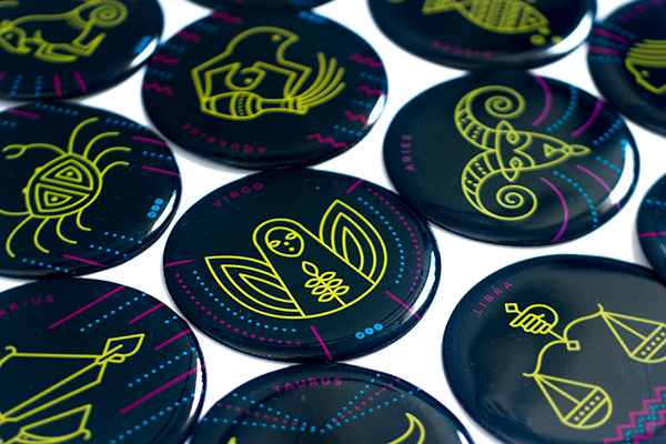 ZODIAC SIGNS MAGNETS on Behance