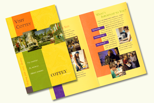Cottey College Brochure On Behance