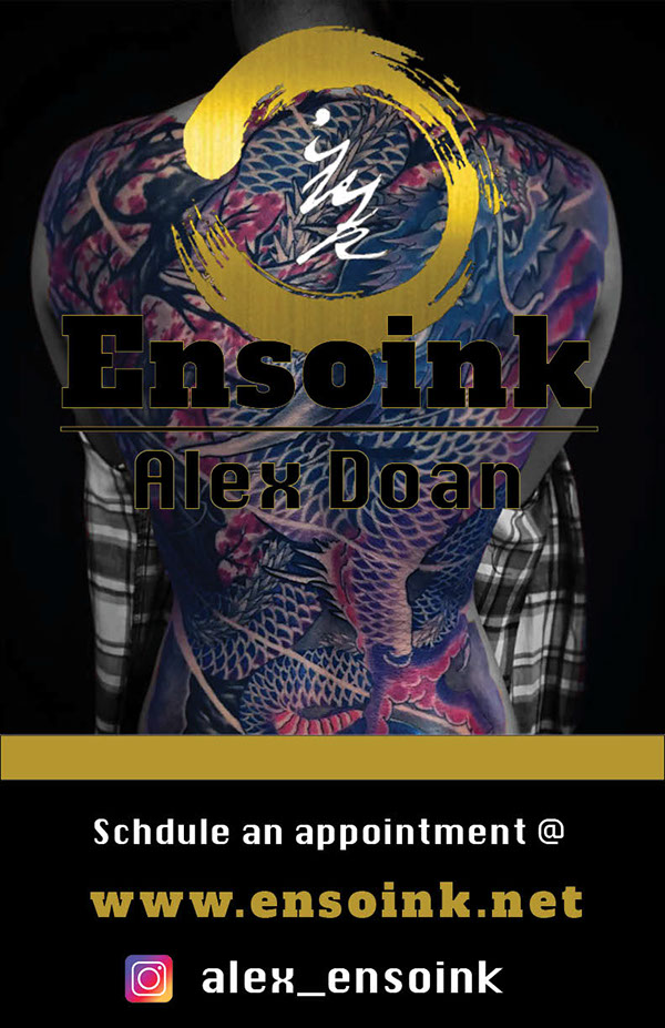 Ensoink Tattoo Shop Advertising Poster on Behance