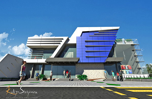 Commercial Building on Behance
