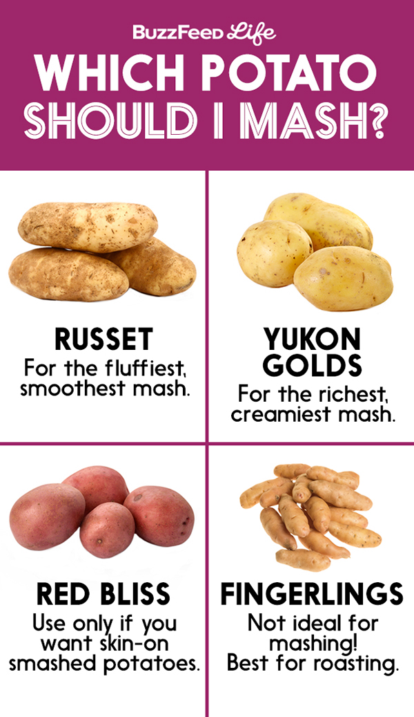 Thanksgiving food charts on wacom gallery for Different ways to cook russet potatoes