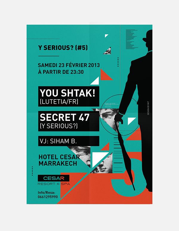 event posters on behance