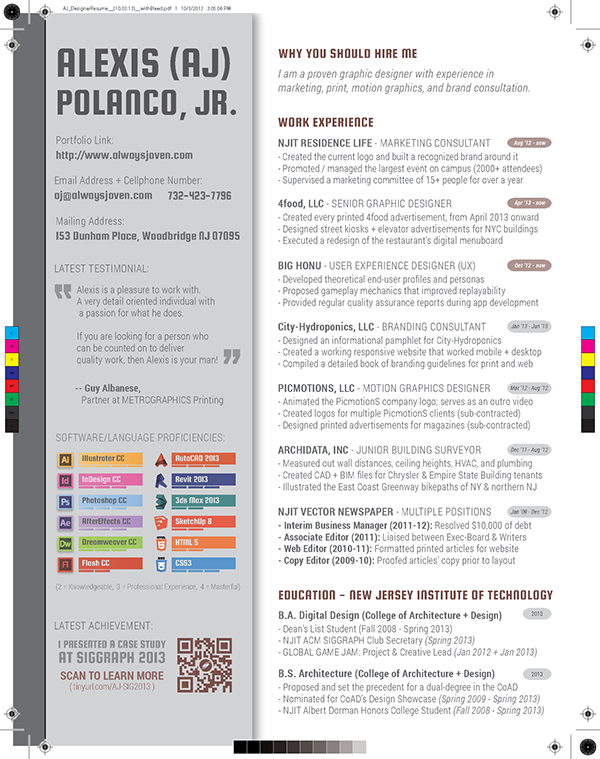 designing a resume wip is it worth it on behance
