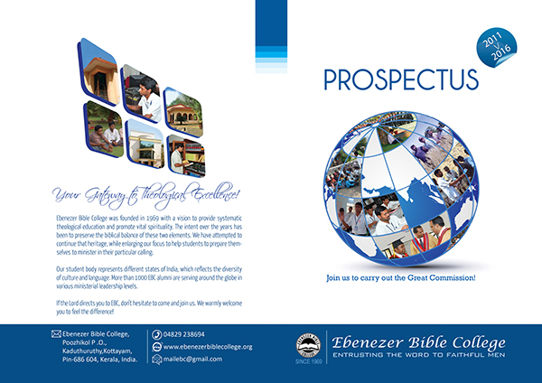 prospectus cover page
