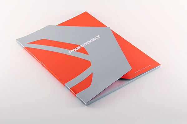 Presentation Folder Pyramat On Behance