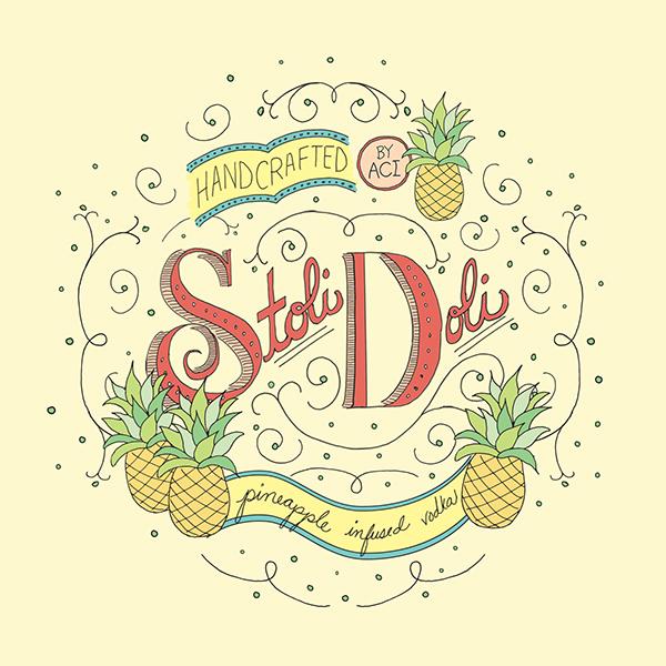 Stoli Doli label on Behance