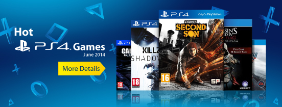 Hot PS4 Games Campaign on Behance