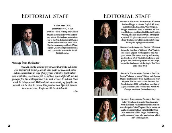 WVWC 2013 Literary Magazine on Behance