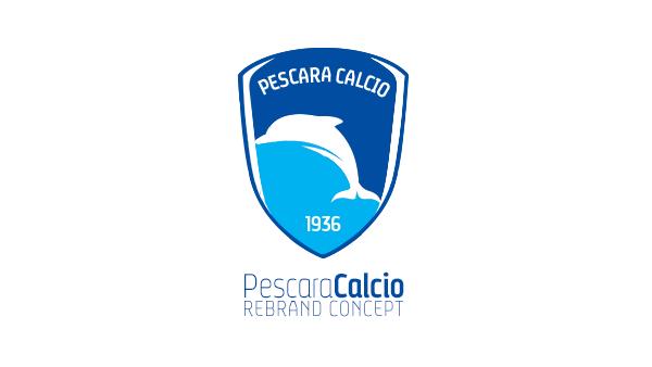 pescara calcio rebrand concept football project on behance