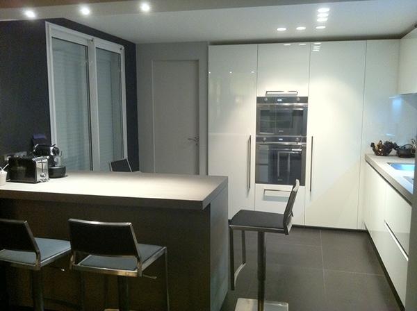 Agencement conception d 39 une cuisine on behance for Ouverture entre cuisine et salle a manger
