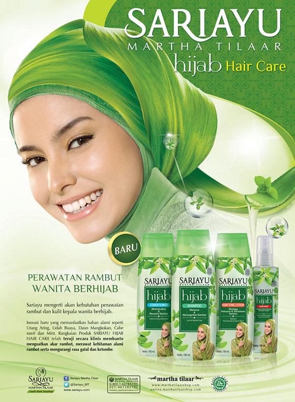 Print Ads -- SARIAYU Hijab Hair Care Series on Behance
