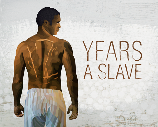 gravity 12 years a slave animated movie posters on behance