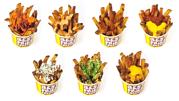 Fries Retail icons Food