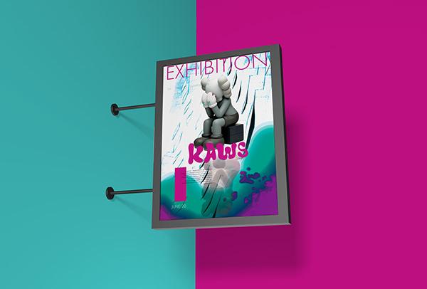 KAWS exhibition