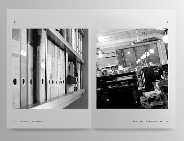 interior design internship report