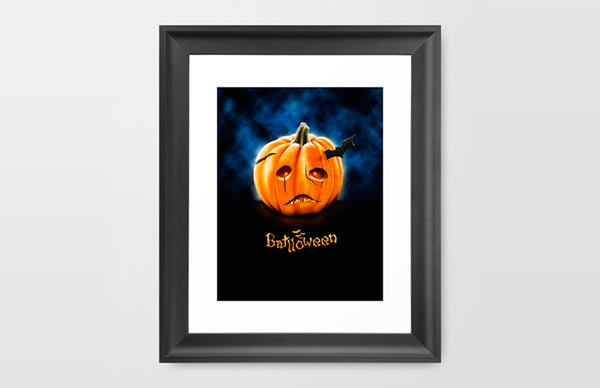Batlloween Illustration