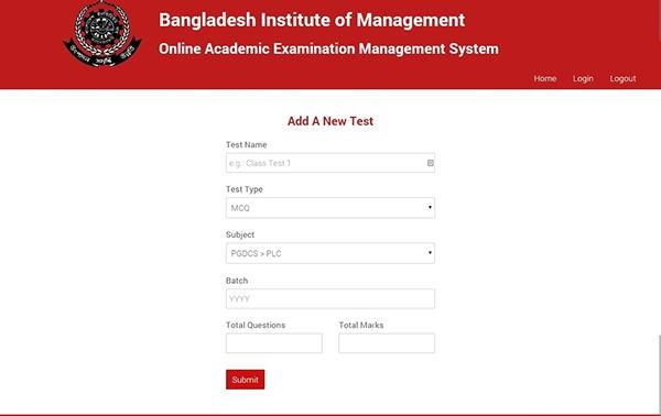 Online Examination Management System (PHP-MySQL) on Behance