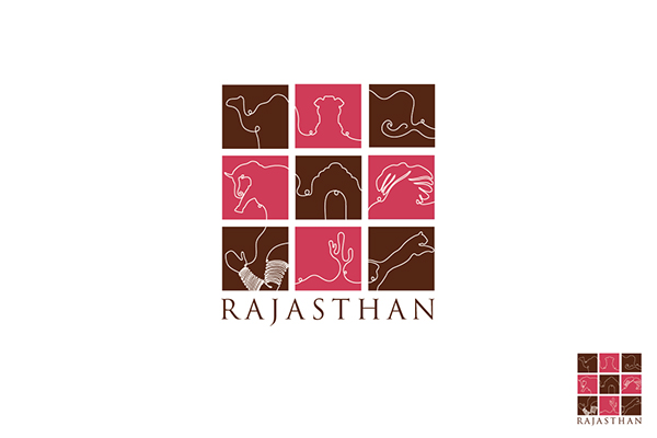 Rajasthan Tourism Logo The Logo is Based on The