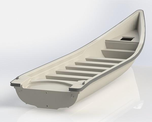 solidworks лодка
