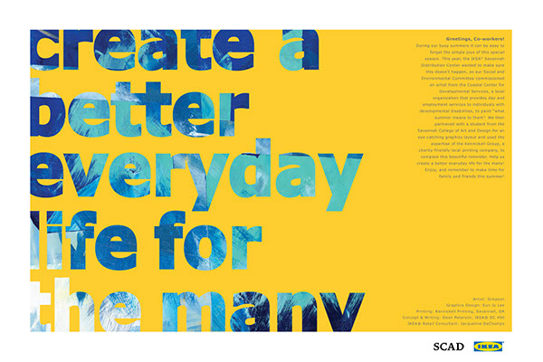 Ikea posters collaboration project on behance for Poster ikea