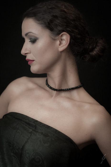 Adobe Portfolio female portraits portfolio