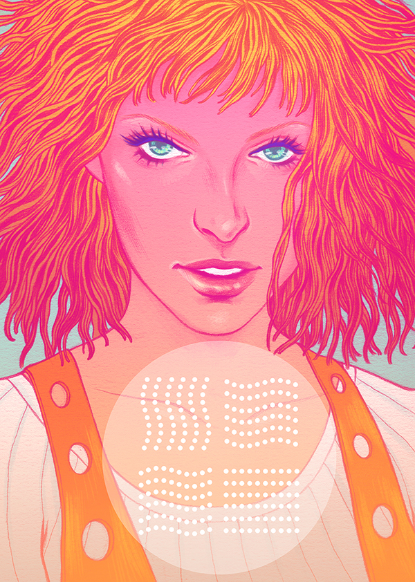 The Fifth Element by Jen Bartel