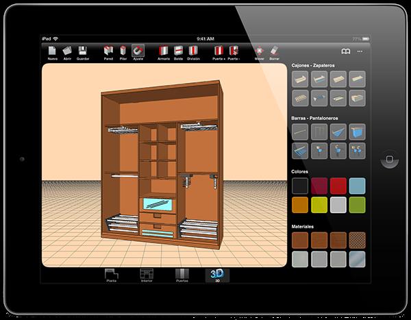 Sketch arm 3d closet designer on behance for 3d wardrobe planner