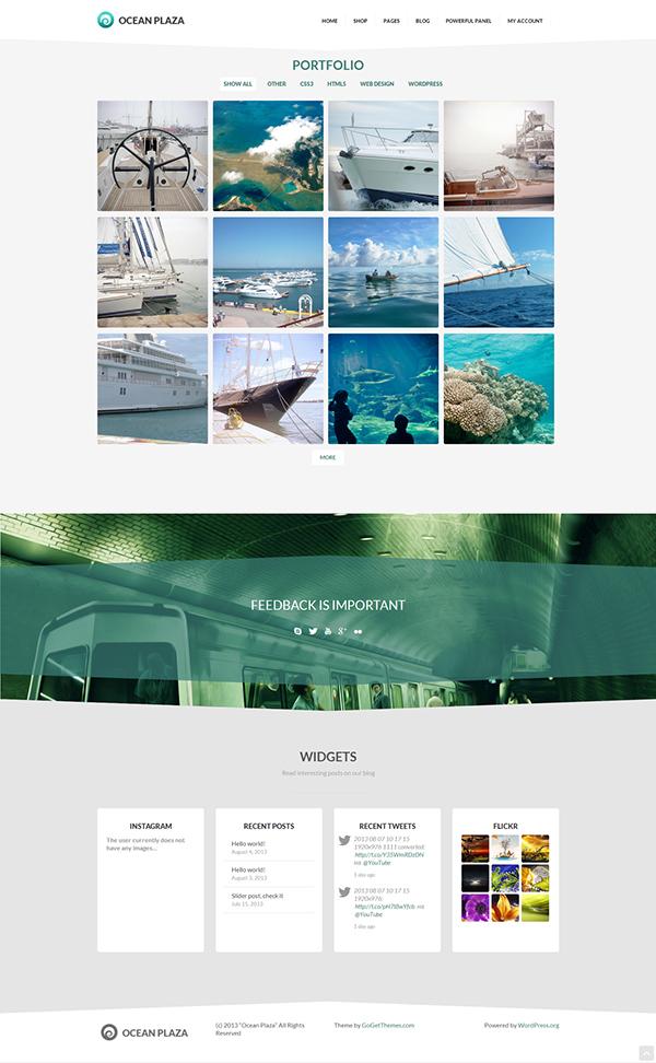 Website template site wordpress wordpress theme clean corporate Blog portfolio business modern cretive