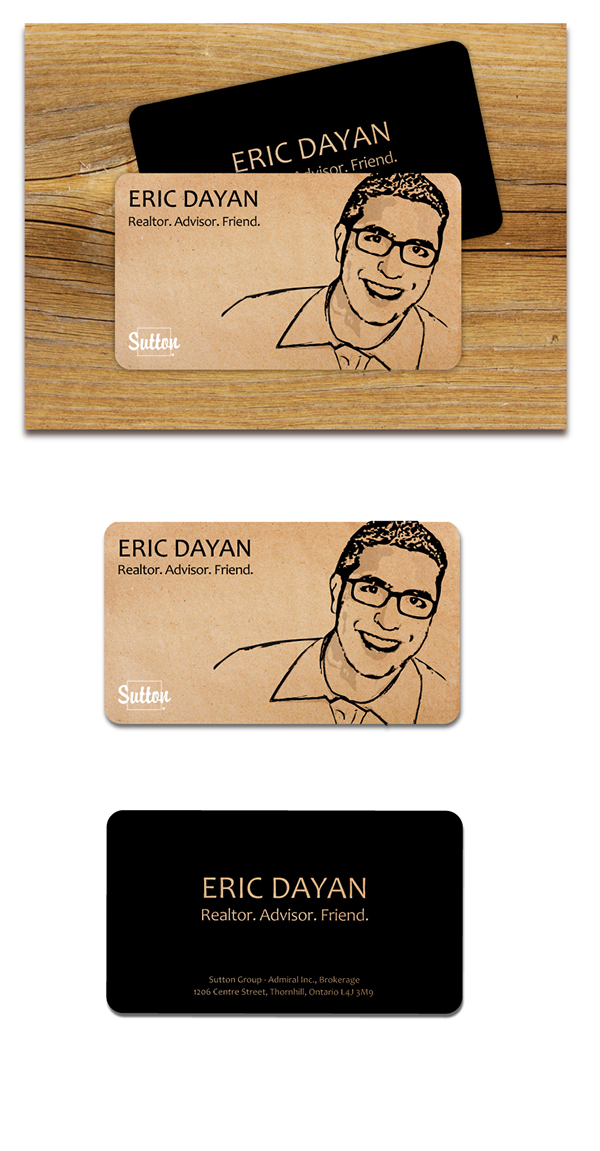 Eric Dayan, Realtor | Business Card on Behance