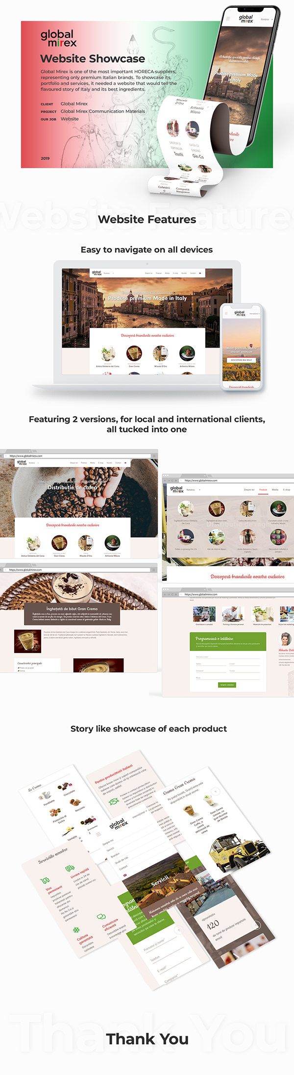 Global Mirex - Website Showcase