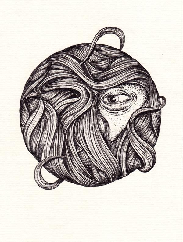 paper ink black face Nature