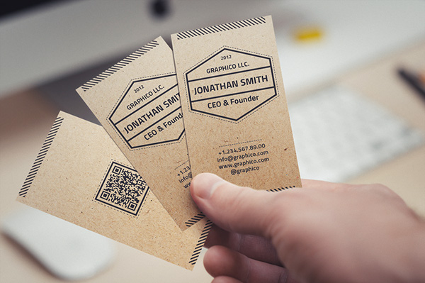 simple textured business card - Textured Business Cards